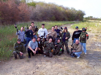 Paragon Innovations Paint Ball Outing