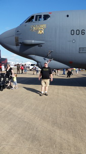 Mike Willey at Air Show