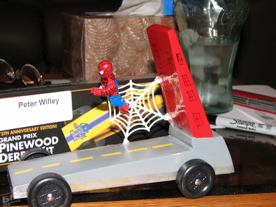 Peter Willey at the Pinewood Derby