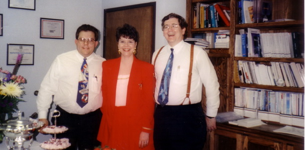 Open House in Allen office in 1994