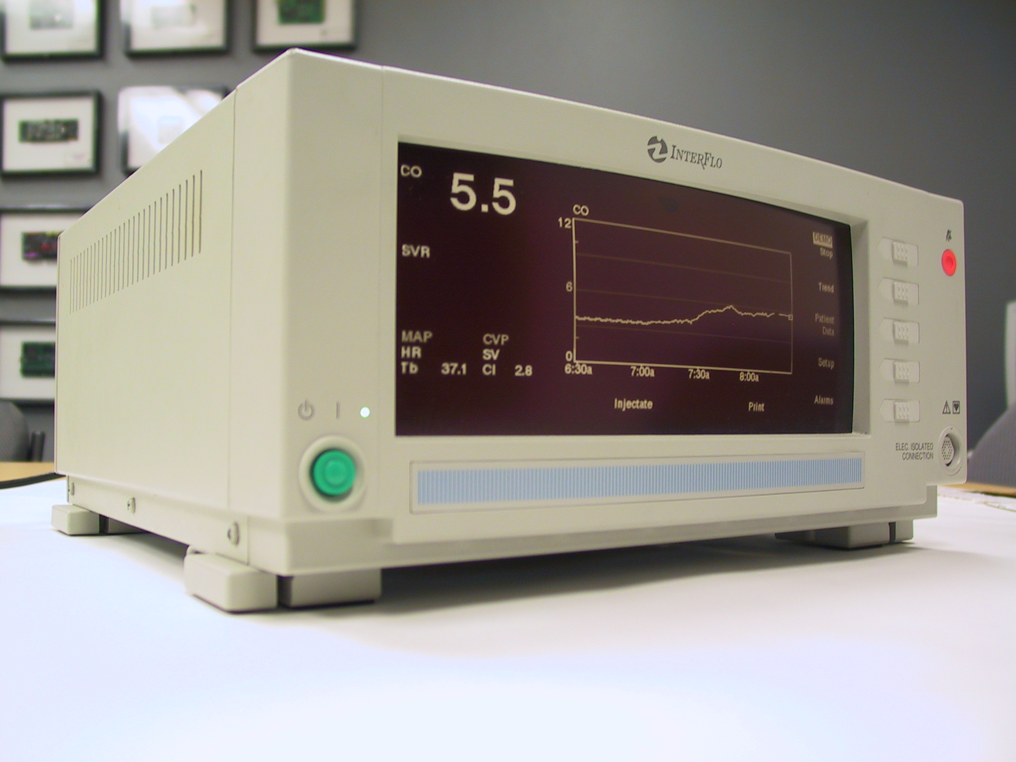 Projects Paragon Innovations Inc New In Electronics With To Develop A Technology For Measuring Blood Flow Continuously This Day No Competing Device Can Monitor Cardiac Output