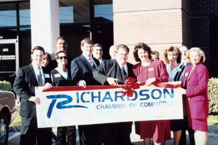 Open House in Richardson office in 1995