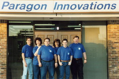 Early team in Allen office 1994